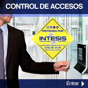control de accesos tepa alarmas seguridad intesis